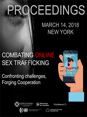 Combating Online Sex Trafficking Proceedings