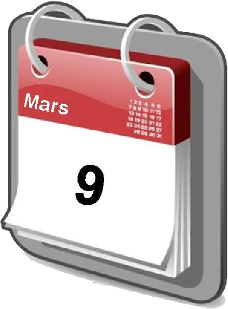 Save the date 9 mars 2017